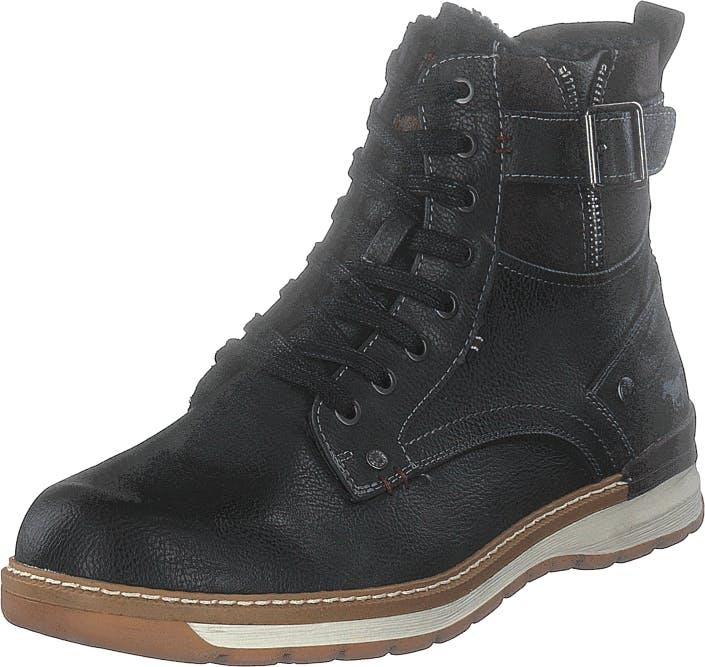 Mustang 4141601 Graphit, Kengät, Bootsit, Kengät, Musta, Miehet, 44