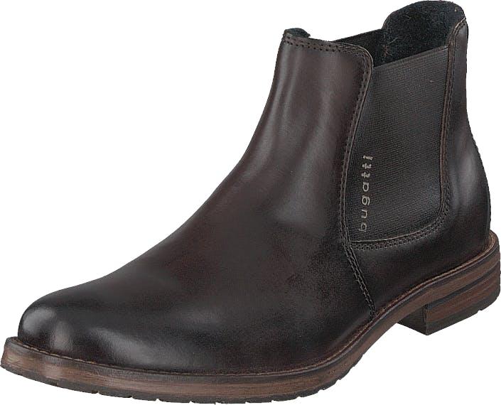 Bugatti Lussorio Brown, Kengät, Bootsit, Chelsea boots, Harmaa, Miehet, 46