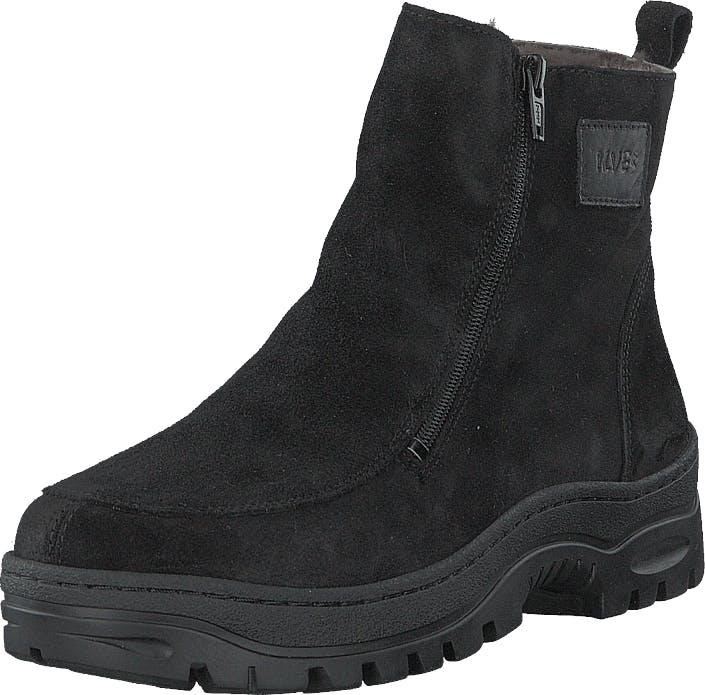 Ilves 75386m-01 Black, Kengät, Bootsit, Curlingkengät, Musta, Miehet, 42