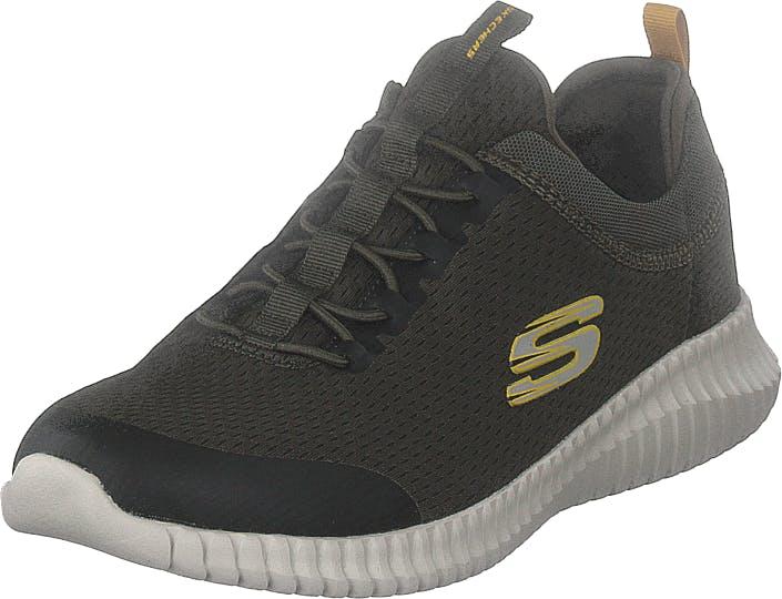Skechers Mens Elite Flex Olv, Kengät, Sneakerit ja urheilukengät, Urheilukengät, Vihreä, Miehet, 43