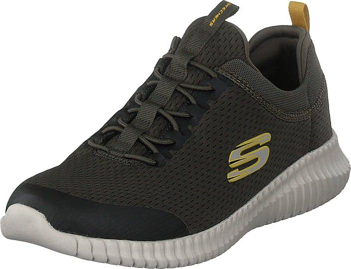 Skechers Mens Elite Flex Olv, Kengät, Sneakerit ja urheilukengät, Urheilukengät, Vihreä, Miehet, 45