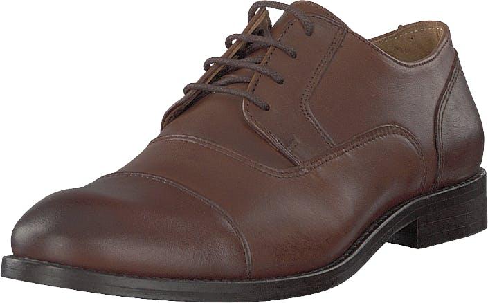 Bianco Biaabbot Leather Derby Cognac, Kengät, Matalat kengät, Juhlakengät, Ruskea, Miehet, 41
