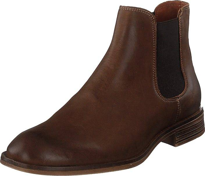 Bianco Biabyron Leather Chelsea Medium Brown, Kengät, Bootsit, Chelsea boots, Ruskea, Miehet, 42