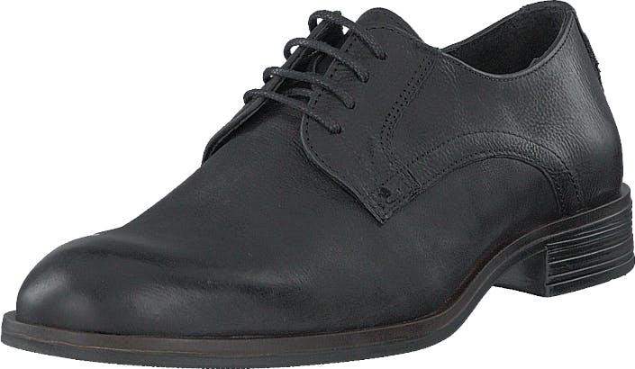 Bianco Biabyron Leather Derby Black, Kengät, Matalat kengät, Juhlakengät, Musta, Miehet, 45