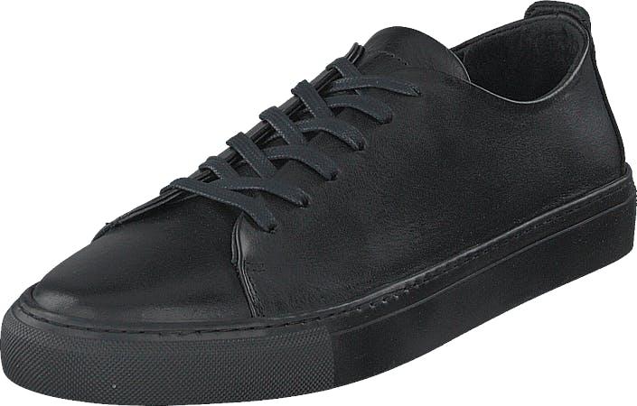 Bianco Biaajay Leather Sneaker 100 Black, Kengät, Matalat kengät, Juhlakengät, Musta, Miehet, 44