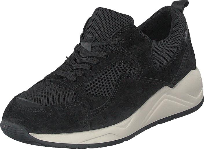 Bianco Biadakota Suede Sneaker 101 Black, Kengät, Tennarit ja Urheilukengät, Sneakerit, Musta, Miehet, 45