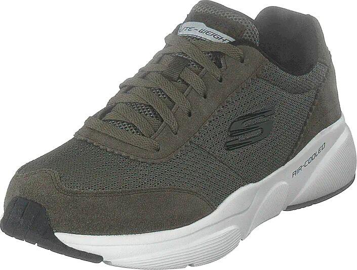 Skechers Mens  Meridian Olv, Kengät, Sneakerit ja urheilukengät, Sneakerit, Harmaa, Miehet, 44