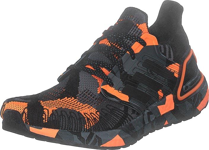Adidas Sport Performance Ultraboost 20 Core Black/core Black/signal O, Kengät, Tennarit ja Urheilukengät, Tennarit, Musta, Harmaa, Miehet, 44
