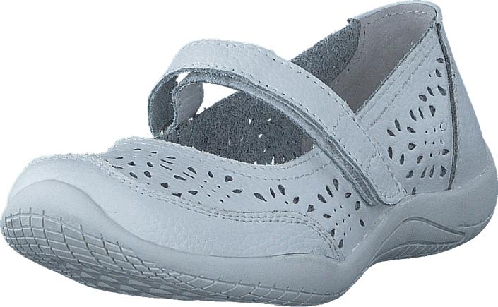 Pax Misa 10 White, Kengät, Matalapohjaiset kengät, Maryjane-kengät, Sininen, Valkoinen, Unisex, 24