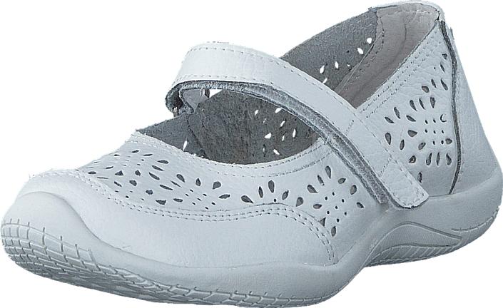 Pax Misa White 10, Kengät, Matalapohjaiset kengät, Maryjane-kengät, Harmaa, Unisex, 24