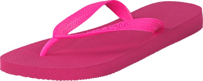 Havaianas Top Shocking Pink, Kengät, Sandaalit ja tohvelit, Flip Flopit, Vaaleanpunainen, Naiset, 35