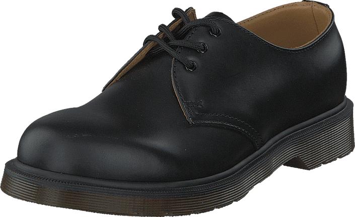 Dr Martens 1461 PW Black, Kengät, Matalapohjaiset kengät, Juhlakengät, Musta, Unisex, 43