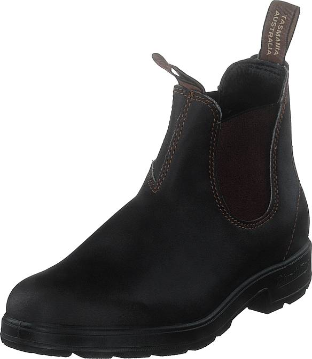 Blundstone 500 Leather Brown, Kengät, Bootsit, Chelsea boots, Musta, Ruskea, Unisex, 44