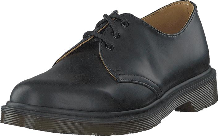 Dr Martens 1461-PW 10078001 Black, Kengät, Matalapohjaiset kengät, Juhlakengät, Musta, Unisex, 39