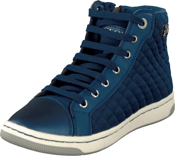 Geox Jr Creamy Avio, Kengät, Sneakerit ja urheilukengät, Korkeavartiset tennarit, Sininen, Unisex, 29