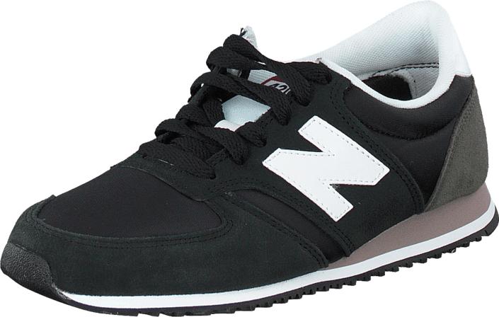 Image of New Balance U420CBW Black, Kengät, Sneakerit ja urheilukengät, Sneakerit, Harmaa, Musta, Unisex, 40