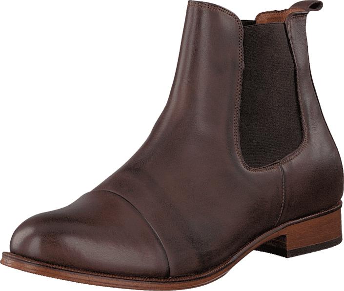 Ten Points Diana 200002 Brown, Kengät, Bootsit, Chelsea boots, Ruskea, Naiset, 36