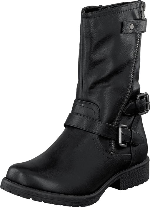 Wildflower Bain Black, Kengät, Bootsit, Korkeavartiset bootsit, Musta, Unisex, 28