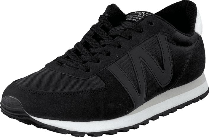 WeSC Post Runner Black, Kengät, Sneakerit ja urheilukengät, Sneakerit, Musta, Unisex, 36