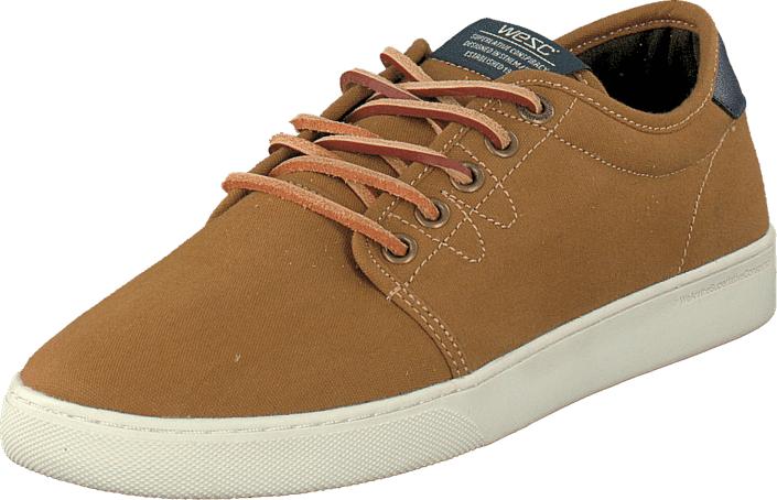 WeSC Off Deck Sneaker Brown, Kengät, Sneakerit ja urheilukengät, Varrettomat tennarit, Ruskea, Unisex, 41
