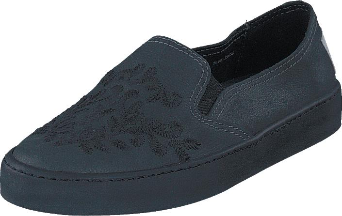 Odd Molly All Mine Slip-In Sneaker Asphalt, Kengät, Matalapohjaiset kengät, Slip on, Sininen, Naiset, 36