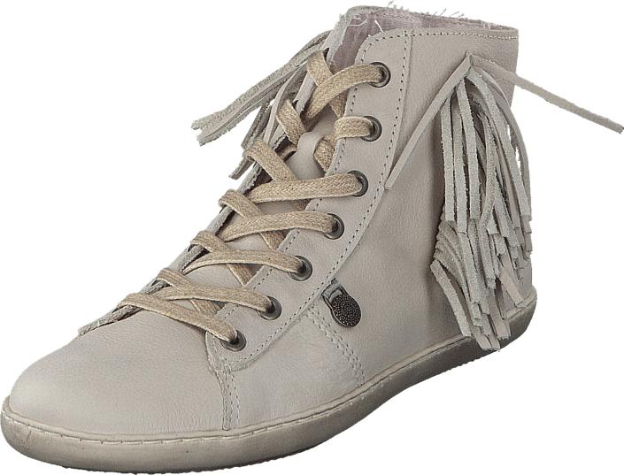Odd Molly High Five High Sneaker Light Porcelain, Kengät, Sneakerit ja urheilukengät, Korkeavartiset tennarit, Beige, Naiset, 37