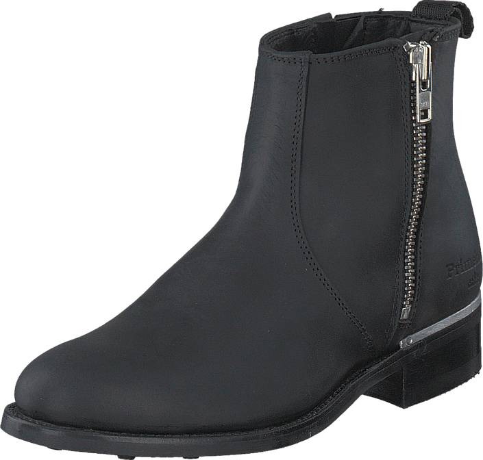PrimeBoots Ascot Majesty Low PR356 Black Nikel, Kengät, Bootsit, Chelsea boots, Violetti, Harmaa, Naiset, 36