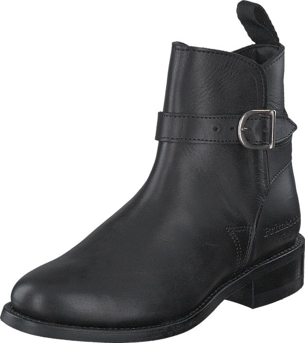 PrimeBoots Ascot Low Pull Up PR012 Black Brass, Kengät, Bootsit, Korkeavartiset bootsit, Harmaa, Naiset, 35