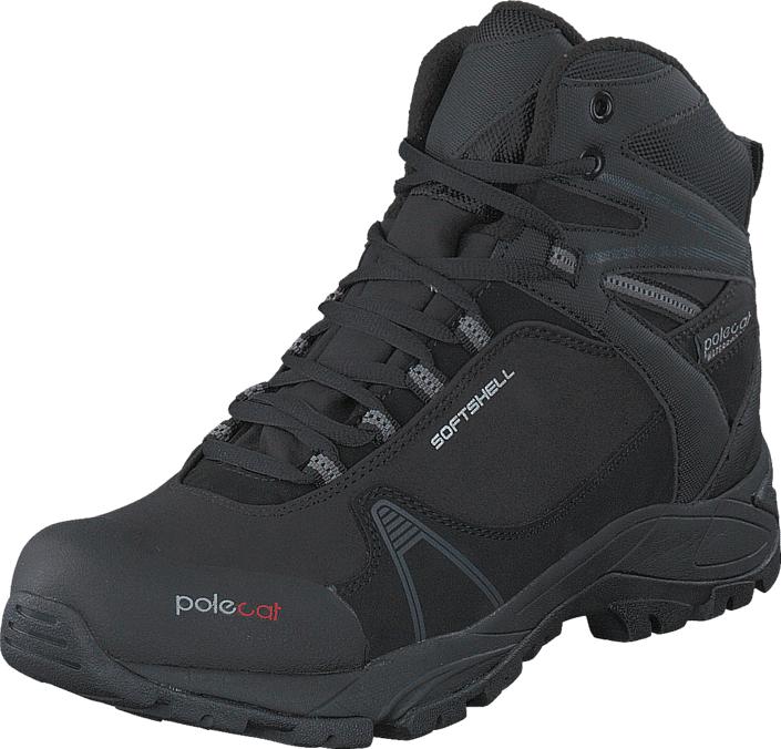 Polecat 430-3367 Waterproof Warm Lining Black, Kengät, Bootsit, Kengät, Harmaa, Unisex, 45
