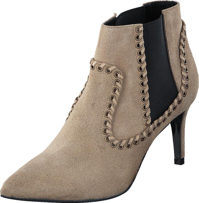 Twist & Tango Montpellier Boots Khaki Beige, Kengät, Saappaat ja saapikkaat, Nilkkurit, Beige, Ruskea, Naiset, 37