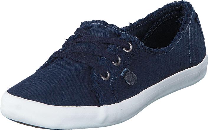 Odd Molly Why Knot Ballerina Sneakers Dark Blue, Kengät, Matalapohjaiset kengät, Kangaskengät, Sininen, Naiset, 36