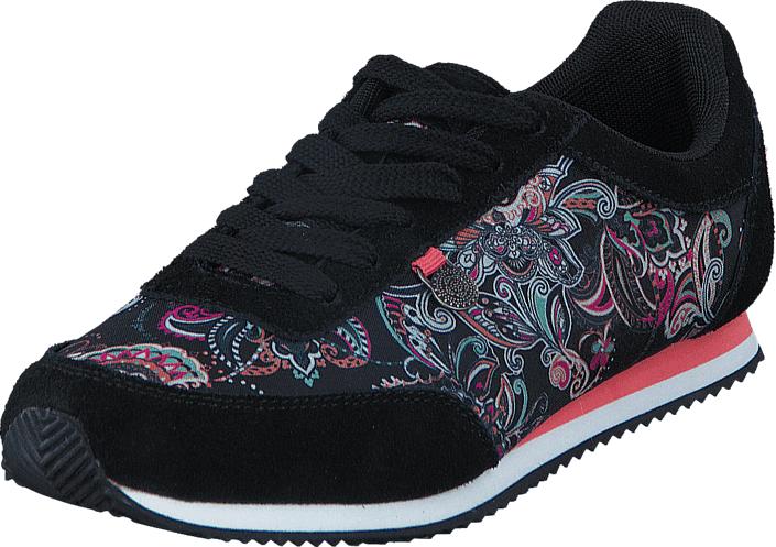 Odd Molly Running Free City Trainer Almost Black, Kengät, Sneakerit ja urheilukengät, Sneakerit, Sininen, Musta, Naiset, 36