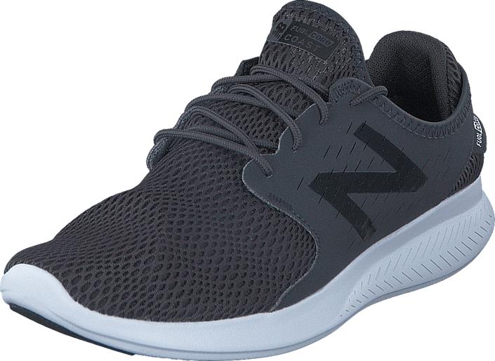 Image of New Balance WCOASLB3 Black 001, Kengät, Sneakerit ja urheilukengät, Sneakerit, Harmaa, Naiset, 36