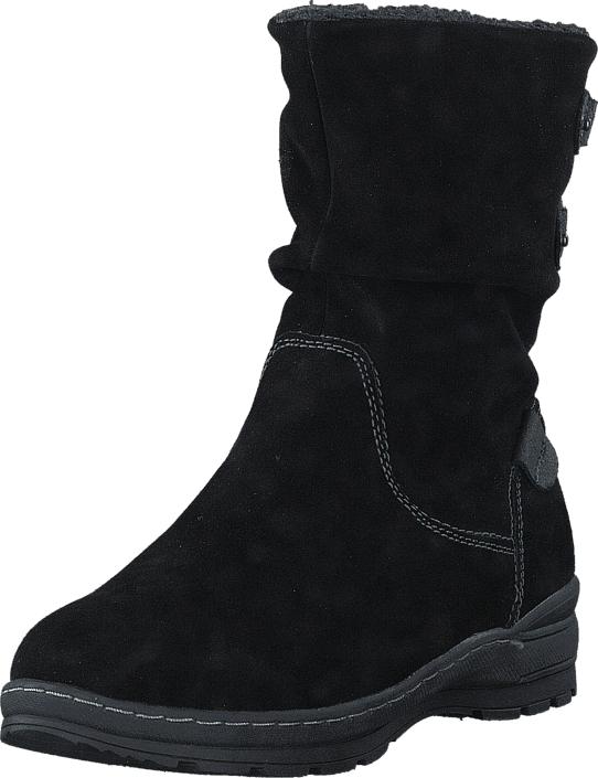 Wildflower Kyrene Black, Kengät, Bootsit, Lämminvuoriset kengät, Musta, Naiset, 36