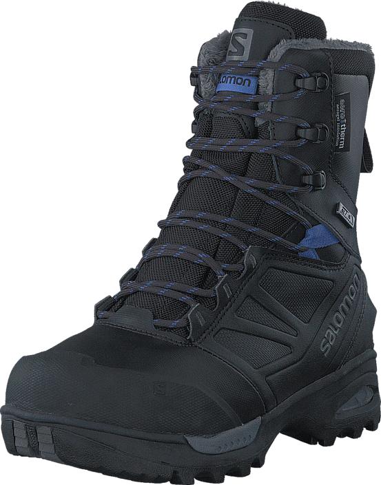 Image of Salomon Toundra Pro Cswp W Phantom/Black/Amparo Blue, Kengät, Bootsit, Korkeavartiset bootsit, Musta, Naiset, 38