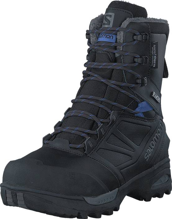 Image of Salomon Toundra Pro Cswp W Phantom/Black/Amparo Blue, Kengät, Bootsit, Korkeavartiset bootsit, Musta, Naiset, 40