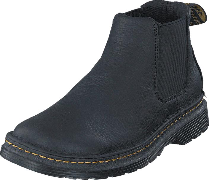 Dr Martens Oakford Black, Kengät, Bootsit, Chelsea boots, Musta, Miehet, 44