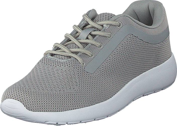 Polecat 420-1524 Grey, Kengät, Sneakerit ja urheilukengät, Sneakerit, Harmaa, Naiset, 36