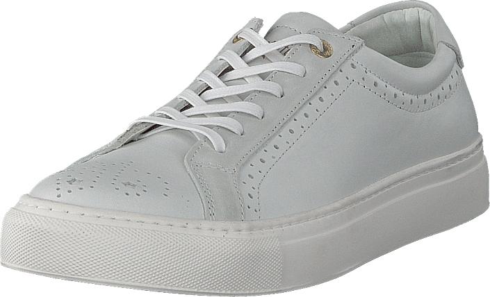 Image of Pantofola D'oro Napoli Donne Low White, Kengät, Sneakerit ja urheilukengät, Sneakerit, Valkoinen, Naiset, 36