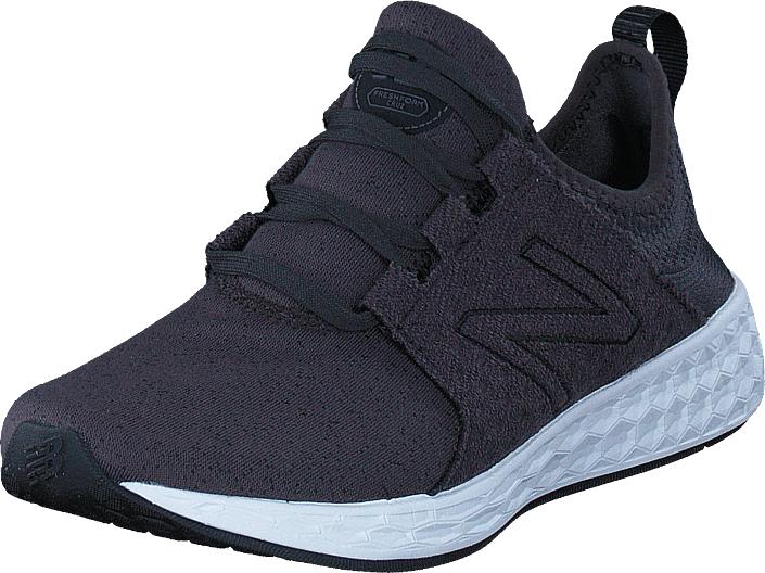 Image of New Balance Wcruzhb Black, Kengät, Sneakerit ja urheilukengät, Sneakerit, Violetti, Naiset, 36