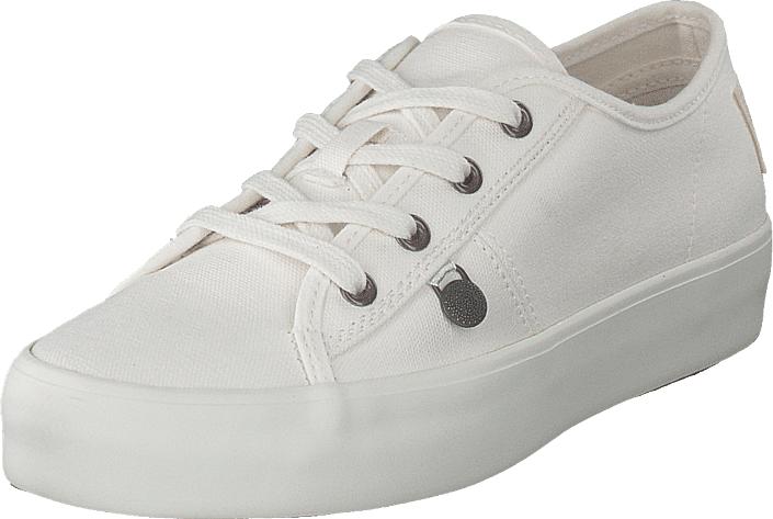 Odd Molly Pedestrian Sneaker Light Chalk, Kengät, Matalapohjaiset kengät, Kävelykengät, Harmaa, Naiset, 36