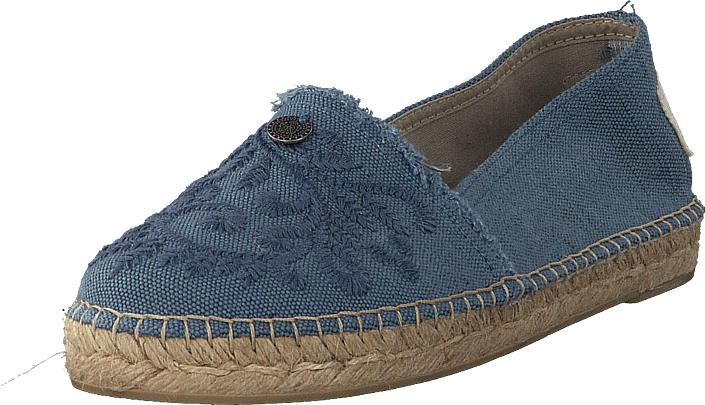 Odd Molly Oddspadrillos Navy, Kengät, Matalapohjaiset kengät, Slip on, Sininen, Naiset, 36