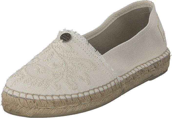 Odd Molly Oddspadrillos Shell, Kengät, Matalapohjaiset kengät, Slip on, Beige, Naiset, 36