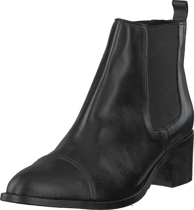 Image of Bianco Dress Chelsea Noos Black, Kengät, Saappaat ja saapikkaat, Nilkkurit, Harmaa, Naiset, 36