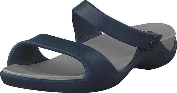 Crocs Cleo V Sandal Women Navy/light Grey, Kengät, Sandaalit ja tohvelit, Sandaalit, Sininen, Naiset, 36