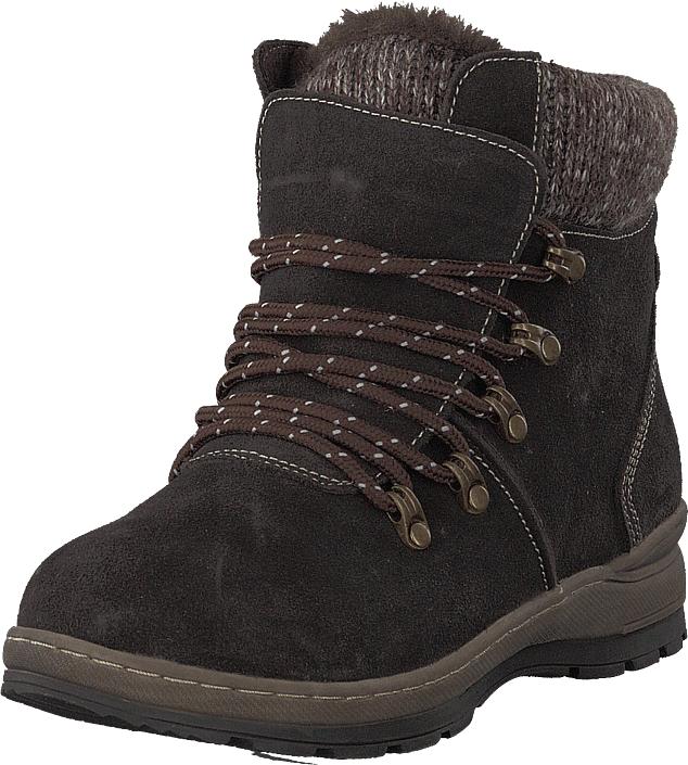 Wildflower Kari Dk Brown, Kengät, Bootsit, Korkeavartiset bootsit, Ruskea, Naiset, 39