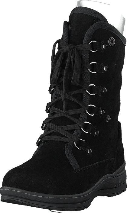 Wildflower Olexina Black, Kengät, Bootsit, Lämminvuoriset kengät, Musta, Naiset, 37