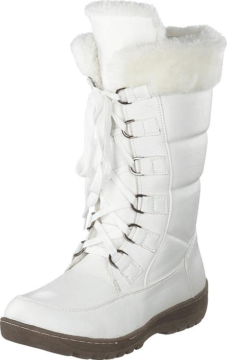 Wildflower Giggle White, Kengät, Saappaat ja saapikkaat, Lämminvuoriset talvisaappaat, Valkoinen, Unisex, 28