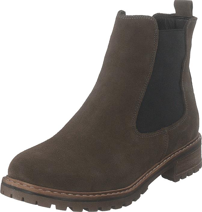 Wildflower Goldy Stone, Kengät, Bootsit, Chelsea boots, Ruskea, Naiset, 38
