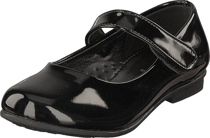 Wildflower Flacona Black, Kengät, Matalapohjaiset kengät, Maryjane-kengät, Musta, Unisex, 30